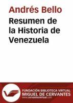 RESUMEN DE LA HISTORIA DE VENEZUELA (EBOOK)