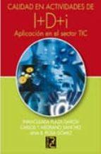 CALIDAD EN ACTIVIDADES DE I+D+I (EBOOK)