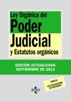 LEY ORGÁNICA DEL PODER JUDICIAL (EBOOK)