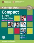 compact first second edition student s book without answers with cd-rom-9781107428423