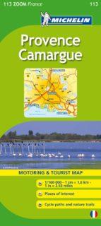 provence   camargue (mapa zoom) (ref. 113) 9782067150423