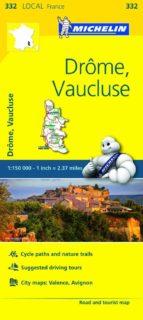 mapa local drome, vaucluse-9782067210523