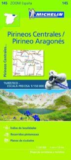 mapa zoom pirineos centrales / pirineo aragon 2017-9782067218123