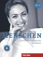 menschen a2.2 arbeitsbuch mit audio cd 9783195119023