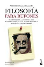 filosofia para bufones-pedro gonzalez calero-9788408005223