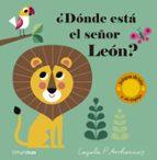 ¿donde esta el señor leon?(texturas)-ingela p. arrhenius-9788408177623