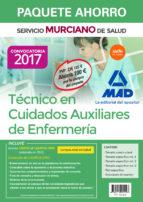paquete ahorro técnico en cuidados auxiliares de enfermería del servicio murciano de salud. (incluye temario parte general y test 9788414204023