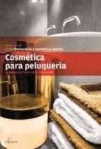 cosmetica para peluqueria: peluqueria y cosmetica capilar carmen alcantud 9788415309123