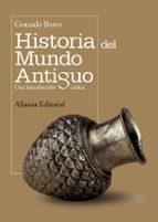 historia del mundo antiguo: una introduccion critica gonzalo bravo 9788420682723