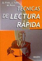 tecnicas de lectura rapida (2ª ed.) d. fink 9788423419623