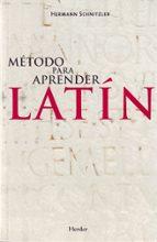 metodo para aprender latin hermann schnitzler 9788425425523