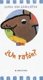 ¿un raton? guido van genechten 9788426350923