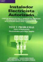 instalador electricista autorizado (test y problemas) 9788428328623