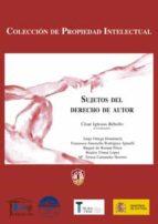 sujetos del derecho de autor. 9788429014723