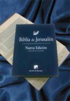 biblia de jerusalen, edicion manual, modelo 1 (4ª ed) (tapa dura)-9788433023223