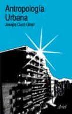 antropologia urbana josepa cuco giner 9788434422223