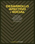 desarrollo afectivo y social-9788436813623