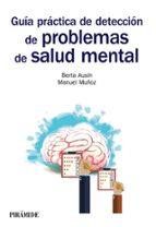 guia practica de deteccion de problemas de salud mental berta ausin benito manuel muñoz lopez 9788436838923