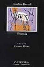 poesia carlos barral 9788437610023