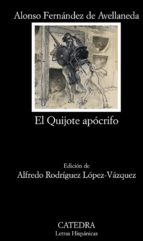 el quijote apocrifo-alonso fernandez de avellaneda-9788437628523