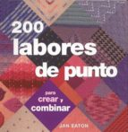 200 labores de punto-jan eaton-9788475563923