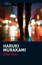 after dark haruki murakami 9788483835623
