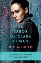 el error de clara ulman (ebook)-cristina higueras-9788491644323