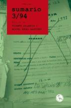sumario 3/94-vicente arlandis-9788495291523