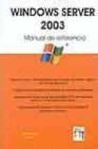 windows server 2003: manual de referencia-9788496097223