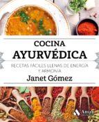 cocina ayurvedica-janet gomez-9788497359023