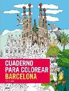cuaderno para colorear barcelona isy ochoa 9788498019223
