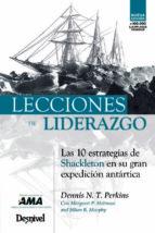 lecciones de liderazgo (2ª ed.)-dennis perkins-9788498292923