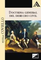 doctrina general del derecho civil 2017-nicola coviello-9789567799923