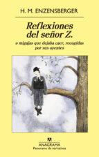 Reflexiones del señor Z (Panorama narrativas)