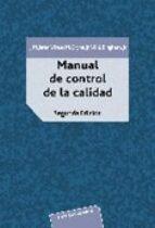 MANUAL DEL CONTROL DE CALIDAD (2 VOLS.)