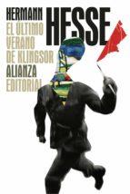El último verano de Klingsor (El Libro De Bolsillo - Bibliotecas De Autor - Biblioteca Hesse)