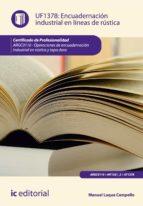 ENCUADERNACIÓN INDUSTRIAL EN LÍNEAS DE RÚSTICA. ARGC0110 (EBOOK)