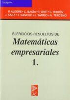 EJERCICIOS RESUELTOS DE MATEMATICAS EMPRESARIALES 1