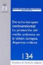 DERECHO EUROPEO MEDIOAMBIENTAL