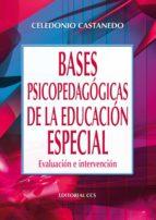 BASES PSICOPEDAGÓGICAS DE LA EDUCACION ESPECIAL (EBOOK)