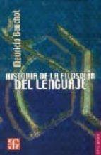 Historia de la filosofía del lenguaje (Breviarios)