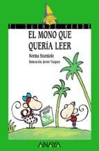 El mono que quería leer (Libros Infantiles - El Duende Verde)