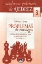 PROBLEMAS DE ESTRATEGIA: 128 EJERCICIOS TEMATICOS PARA UN ENTRENA MIENTO ESTRUCTURADO (CUADERNOS PRACTICOS DE AJEDREZ, 3)