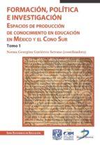 FORMACIÓN. POLÍTICA E INVESTIGACIÓN (EBOOK)