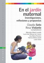 EN EL JARDIN MATERNAL (EBOOK)