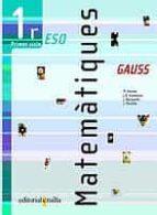 MATEMATIQUES (GAUSS) (1ER ESO 1ER CICLE)