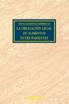 LA OBLIGACIÓN LEGAL DE ALIMENTOS ENTRE PARIENTES (EBOOK)