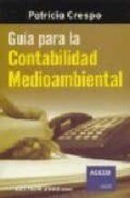 GUIA PARA LA CONTABILIDAD MEDIOAMBIENTAL