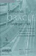 MANUAL DE ORACLE DEVELOPER 2000