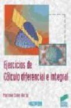 EJERCICIOS DE CALCULO DIFERENCIAL E INTEGRAL
